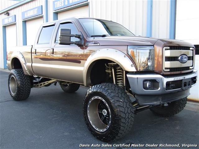 2011 Ford F-250 Super Duty Lariat 6.7 Diesel Lifted 4X4 Crew Cab - Photo 13 - Richmond, VA 23237