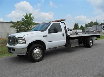 2002 Ford F550 Super Duty Rollback Truck