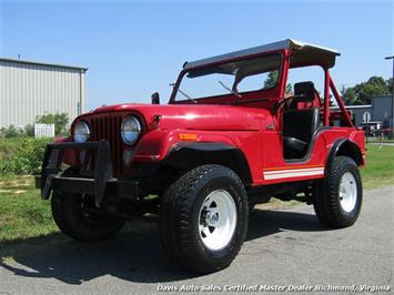 1976 Jeep CJ5 4X4 Off Road Low Mileage Rust Free Brush Vehicle Sedan
