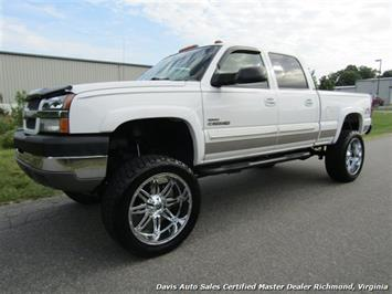 2004 Chevrolet Silverado 2500 HD Duramax Diesel Lifted 4X4 Crew Cab Short Bed Truck