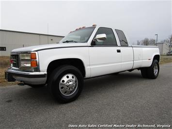 1994 GMC Sierra 3500 SLE C K Big Block DRW Extended Cab Long Bed Truck