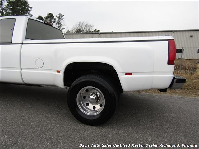 1994 GMC Sierra 3500 SLE C K Big Block DRW Extended Cab Long Bed