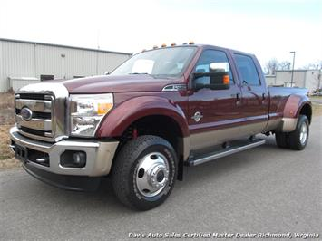 2012 Ford F-450 Super Duty Lariat FX4 4X4 Dually Truck
