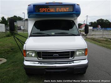2007 Ford E450 Super Duty Startrans Passenger Shuttle Bus Wheelchair Accessable DRW - Photo 13 - Richmond, VA 23237