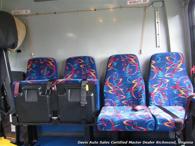 2007 Ford E450 Super Duty Startrans Passenger Shuttle Bus Wheelchair Accessable DRW - Photo 29 - Richmond, VA 23237