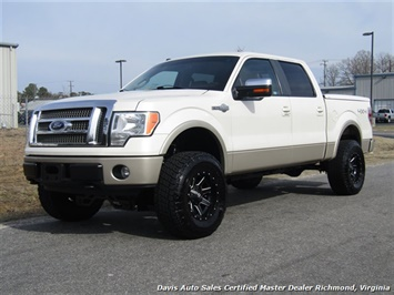 2009 Ford F-150 King Ranch Lifted 4X4 Super Crew Cab Short Bed Truck