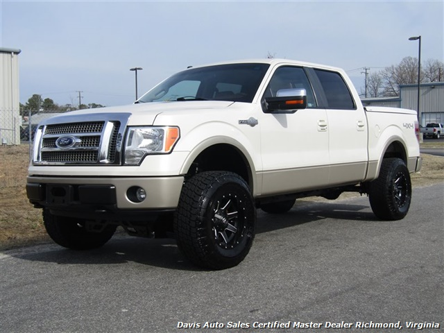 2009 ford f 150 king ranch lifted 4x4 super crew cab short bed. Black Bedroom Furniture Sets. Home Design Ideas