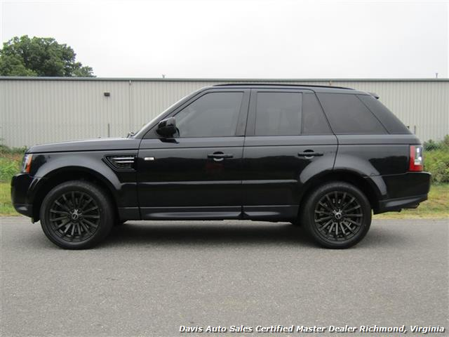 Blacked Out Range Rover Sport >> 2012 Land Rover Range Rover Sport Hse 4x4 Blacked Out