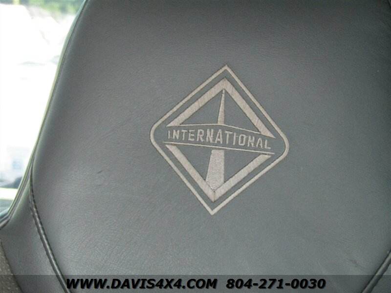 2006 International 7300 Cxt 4x4 Diesel Dt466 Crew Cab