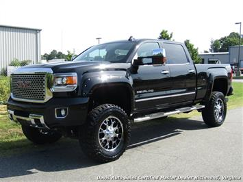 2015 GMC Sierra 2500 HD Denali Z92 Off Road 6.6 Duramax Turbo Diesel 4X4 Lifted CC SB Truck