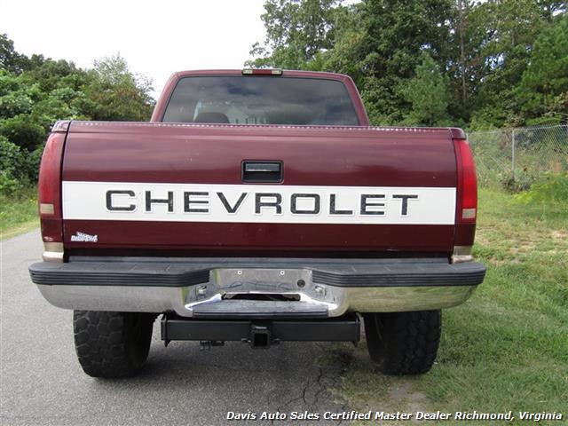 Lifted Burgundy Silverado >> 1997 Chevrolet Silverado 1500 C/K Lifted 4X4 Extended Cab Short Bed