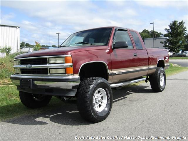 1997 Chevrolet Silverado 1500 C K Lifted 4x4 Extended Cab Short Bed Photo 1