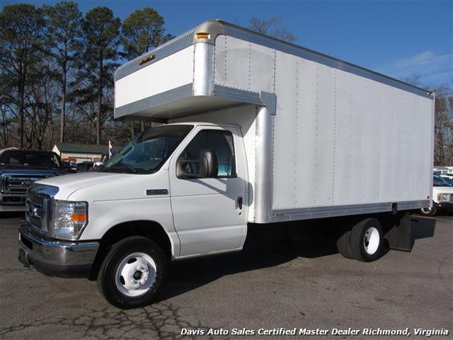 6b11722e1a5b7c 2008 Ford E-350 Super Duty Cargo Box Work Van 14 15 Foot