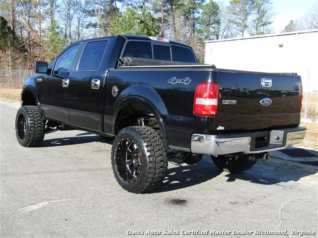 2005 ford f 150 lariat fx4 lifted 4x4 super crew cab short bed. Black Bedroom Furniture Sets. Home Design Ideas