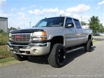 2004 GMC Sierra 2500 HD SLT Lifted 4X4 Crew Cab Short Bed Truck