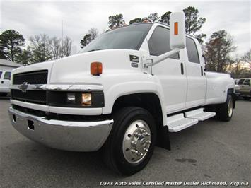 2006 Chevrolet Kodiak 4500 Monroe Diesel Duramax Air Ride Dually Crew Cab Hauler Super Truck