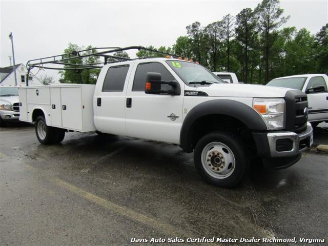 2015 Ford F-450 Super Duty XL 4X4 Diesel 6.7 Dually Crew Cab Utility Work Bin Body - Photo 32 - Richmond, VA 23237