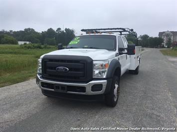 2015 Ford F-450 Super Duty XL 4X4 Diesel 6.7 Dually Crew Cab Utility Work Bin Body - Photo 2 - Richmond, VA 23237