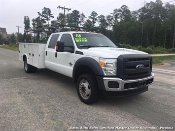 2015 Ford F-450 Super Duty XL 4X4 Diesel 6.7 Dually Crew Cab Utility Work Bin Body - Photo 3 - Richmond, VA 23237