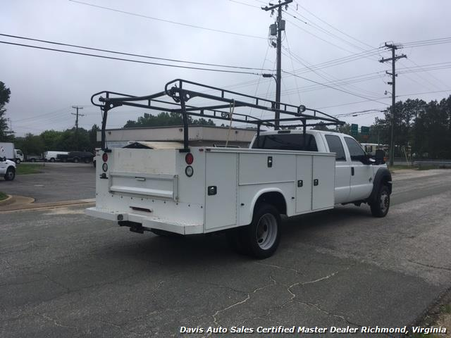 2015 Ford F-450 Super Duty XL 4X4 Diesel 6.7 Dually Crew Cab Utility Work Bin Body - Photo 5 - Richmond, VA 23237