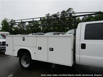 2015 Ford F-450 Super Duty XL 4X4 Diesel 6.7 Dually Crew Cab Utility Work Bin Body - Photo 34 - Richmond, VA 23237