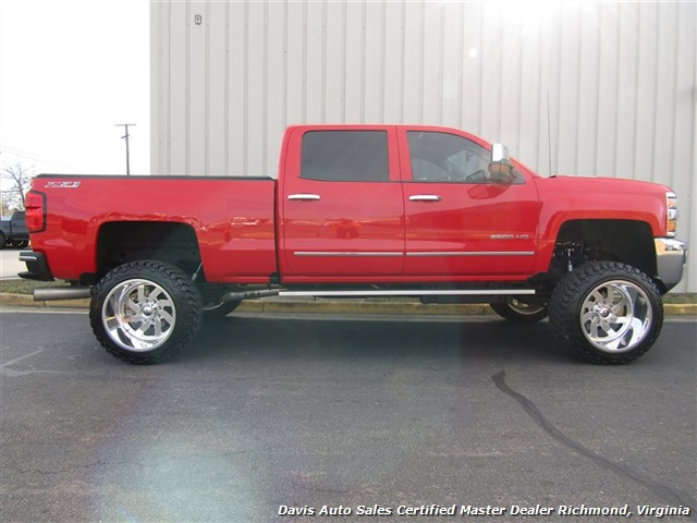 2016 Chevrolet Silverado 2500 HD LT Z71 6.6 Duramax Diesel Lifted 4X4 Crew Cab - Photo 12 - Richmond, VA 23237