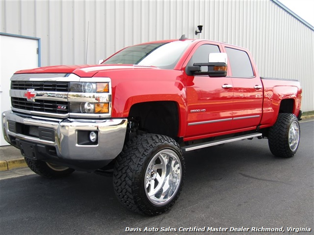 2016 Chevrolet Silverado 2500 HD LT Z71 6.6 Duramax Diesel Lifted 4X4 Crew Cab - Photo 1 - Richmond, VA 23237