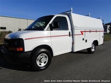 2006 Chevrolet Express 3500 Cargo Commercial Utility Bin Body Reading Bed Sedan