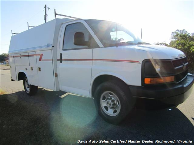 2006 Chevrolet Express 3500 Cargo Commercial Utility Bin