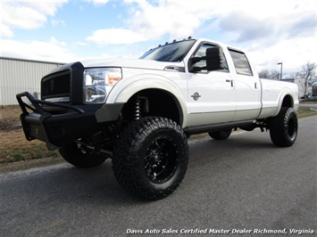 2011 Ford F-350 Super Duty Lariat 6.7 Diesel Lifted 4X4 Long Bed Truck