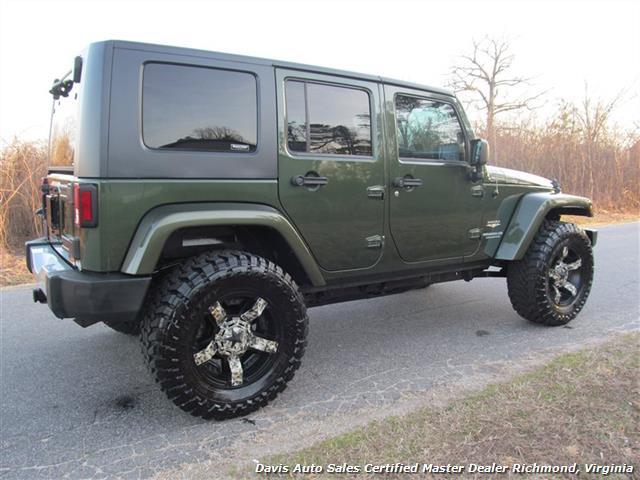 2008 Jeep Wrangler Unlimited Sahara 4x4 4 Door