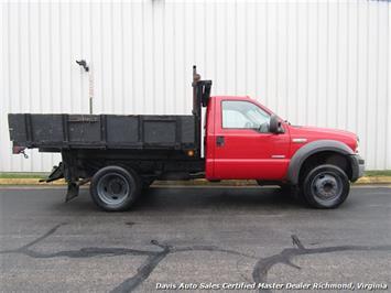 2005 Ford F-450 Super Duty XL Regular Cab Dump Bed Power Stroke Turbo Diesel - Photo 13 - Richmond, VA 23237
