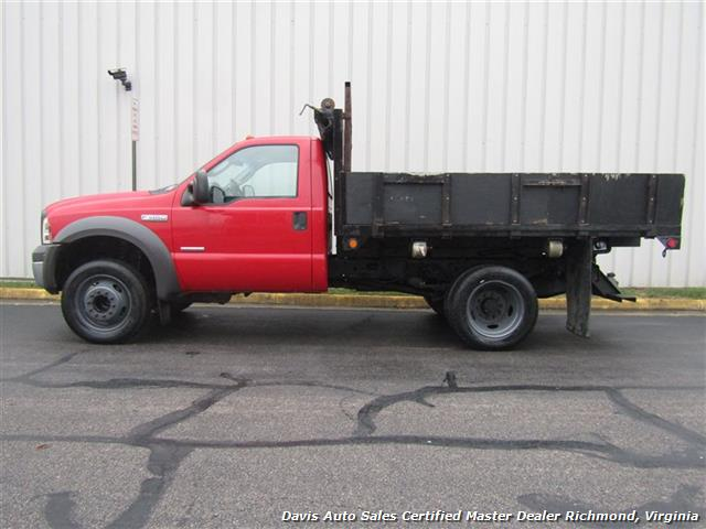 2005 Ford F-450 Super Duty XL Regular Cab Dump Bed Power Stroke Turbo Diesel - Photo 2 - Richmond, VA 23237