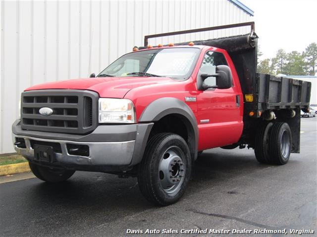 2005 Ford F-450 Super Duty XL Regular Cab Dump Bed Power Stroke Turbo Diesel - Photo 1 - Richmond, VA 23237