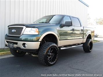 2007 Ford F-150 Lariat Lifted 4X4 SuperCrew Crew Cab Short Bed Truck