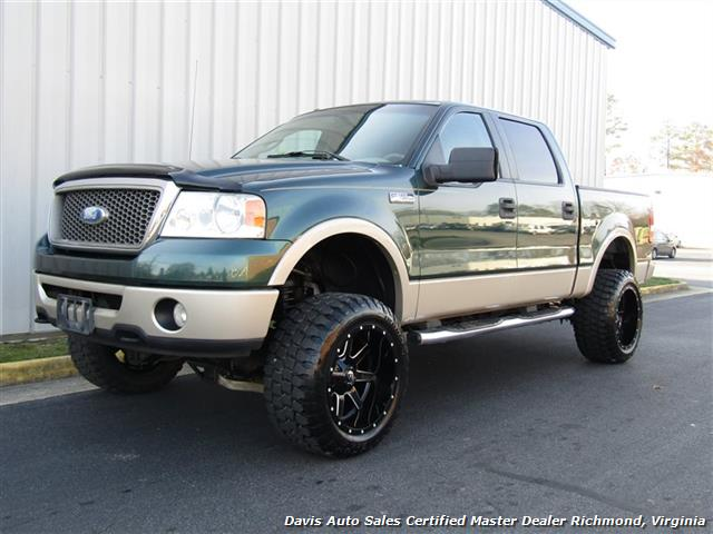 2007 Ford F-150 Lariat Lifted 4X4 SuperCrew Crew Cab Short Bed - Photo 1 - Richmond, VA 23237