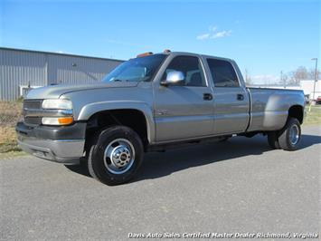 2001 Chevrolet Silverado 3500 LS Crew Cab Long Bed Dually Truck