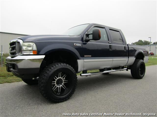2004 ford f 250 super duty lariat lifted 4x4 crew cab. Black Bedroom Furniture Sets. Home Design Ideas