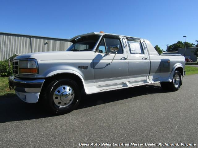 1996 Ford F 350 Xlt 7 3 Diesel Dually Crew Cab Long Bed