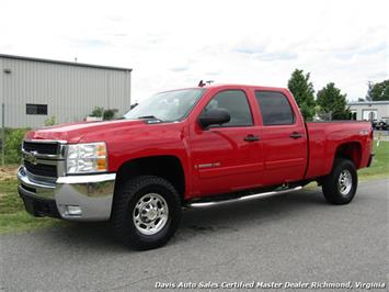 2008 Chevrolet Silverado 2500 HD LT Edition 4X4 Crew Cab Short Bed Truck