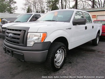 2010 Ford F-150 XL 4X4 Crew Cab Short Bed Truck