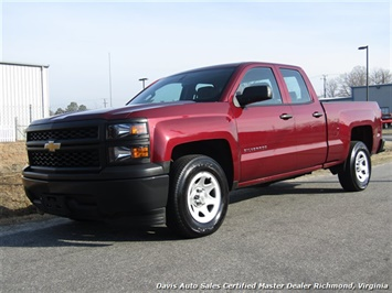 2015 Chevrolet Silverado 1500 LS Double Cab Short Bed Low Mileage Truck