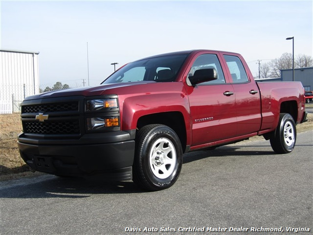2015 Chevrolet Silverado 1500 LS Double Cab Short Bed Low Mileage - Photo 1 - Richmond, VA 23237