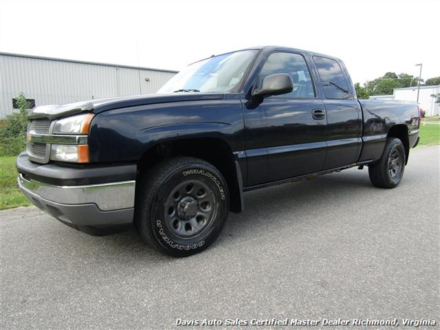 2005 chevrolet silverado 1500 lt 4x4 vortec extended cab short bed work. Black Bedroom Furniture Sets. Home Design Ideas