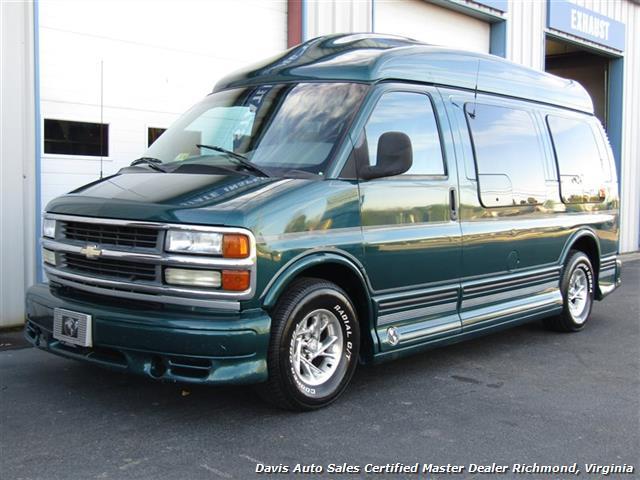1999 Chevrolet Express High Top Custom Conversion Explorer