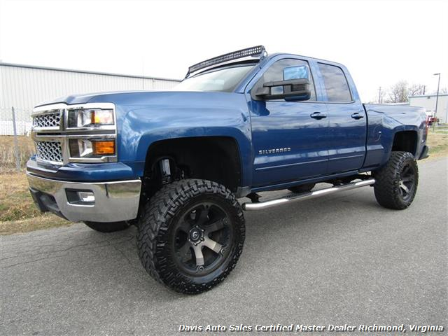 2015 Chevy Silverado Lifted >> 2015 Chevrolet Silverado 1500 Lt Lifted 4x4 Crew Cab Short Bed