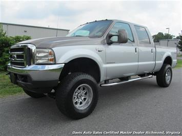 2001 Ford F-250 Powerstroke Diesel Lifted Lariat Platinum 4X4 Truck