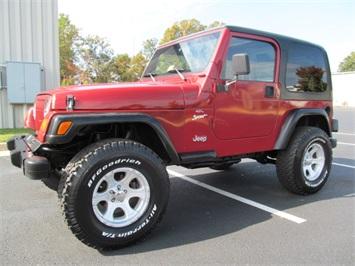 1998 Jeep Wrangler Sport Convertible