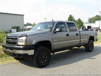 2006 Chevrolet Silverado 3500 LT Lifted 6.6 Duramax Diesel 4X4 Crew Cab Long Bed Truck