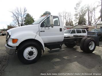 2005 Ford F-650 Super Duty XL Cummins Diesel Straight Frame Cab Chassis Truck